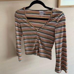 Princess Polly Striped Shirt